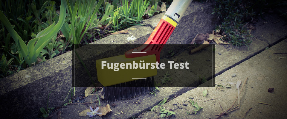 Fugenbürste Test