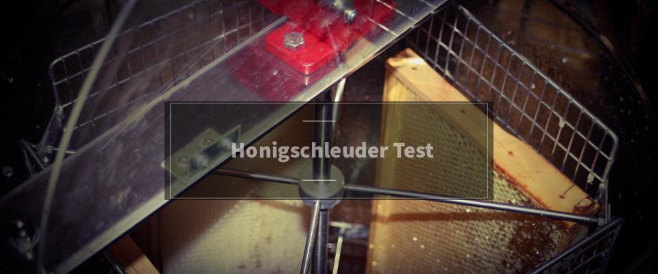 Honigschleuder Test